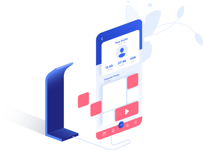 Messenger bots automate part of your customer service for fast interaction with clients.